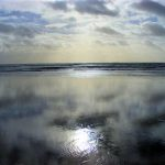 Keel Strand: reflections